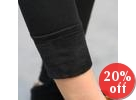Brushed Fleece-Lined Leggings