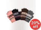 Nordic Pattern Knit Gloves
