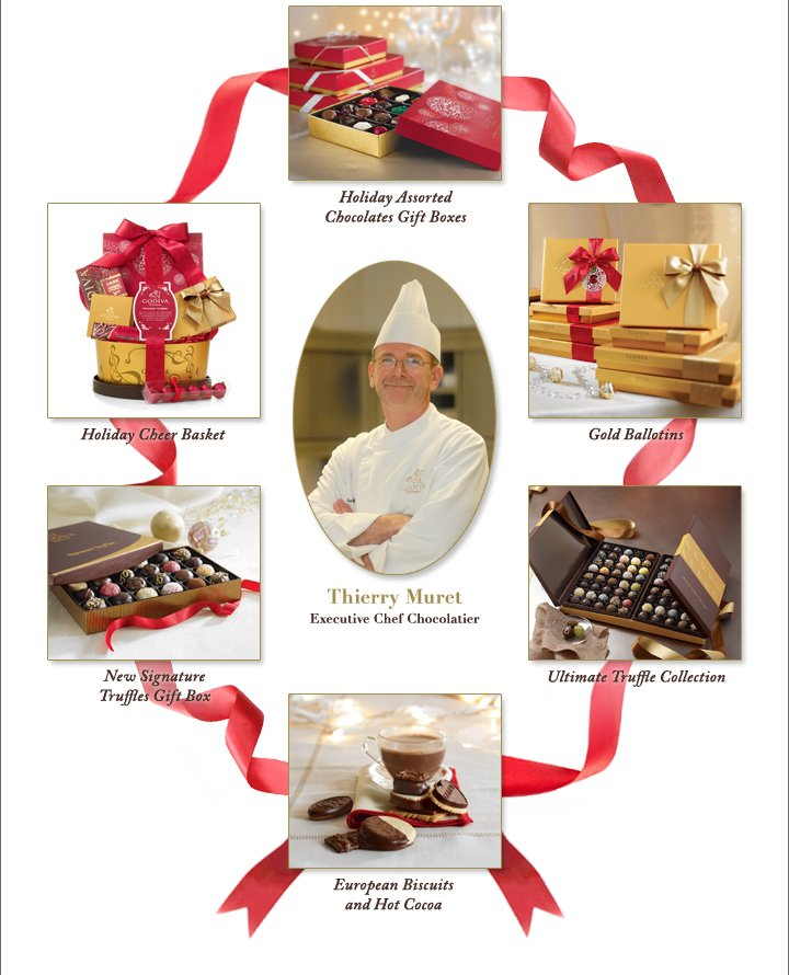 Holiday Assorted Chocolate Gift Boxes
