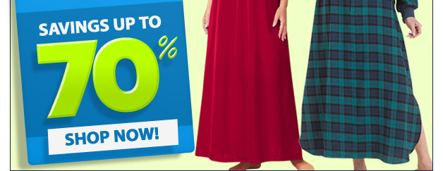 Loungwear Clearance - Savings up to 70% Off - Shop Now