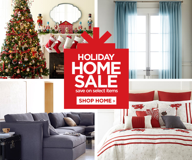 HOLIDAY HOME SALE - save on select items  SHOP HOME ›