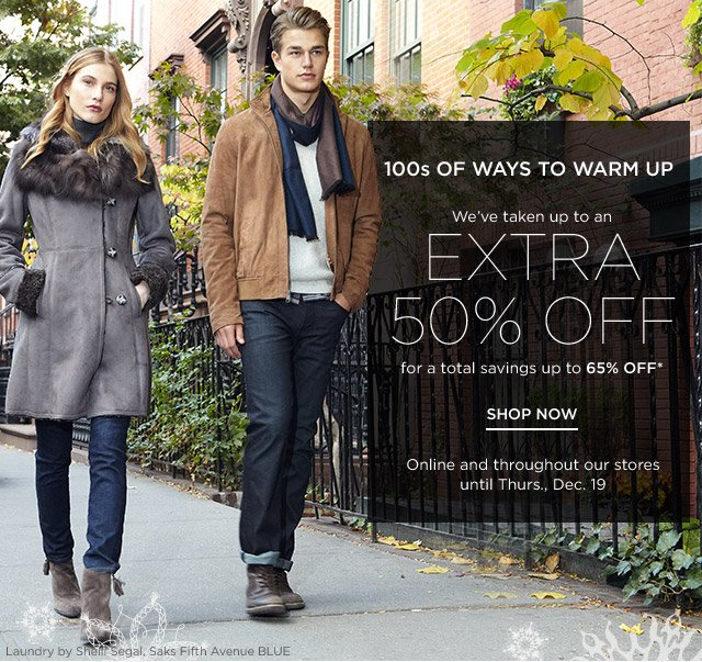 Up to 65% off 100s of Ways to Warm Up
