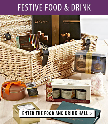 Enter our festive food hall