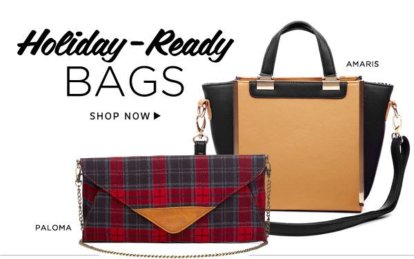 Holiday-ready Bags