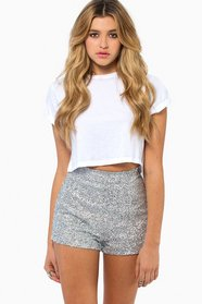 Diva Sequin Shorts