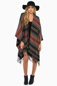 Into the Night Poncho