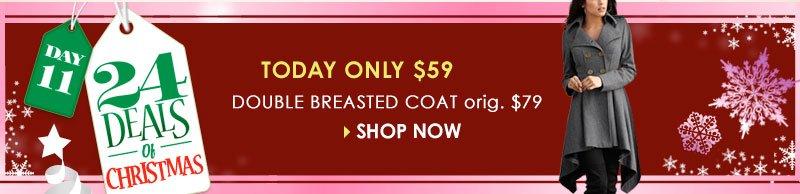 24 Deals of Christmas! Shop Jackets and Coats!