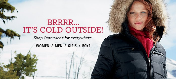 Shop Outerwear for Everywhere