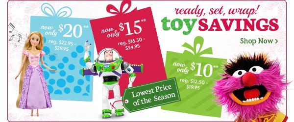 ready, set, wrap toy Savings | Shop Now