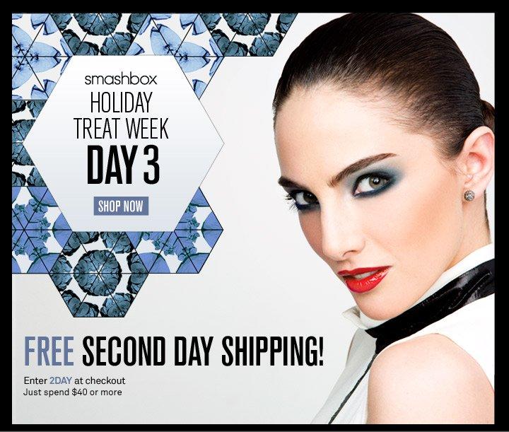 Smashbox Holiday Treat Week - Day 3