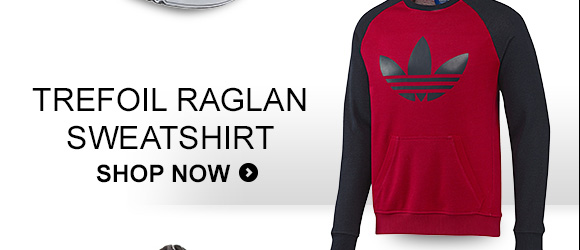 Shop Men's Trefoil Raglan Sweatshirt »