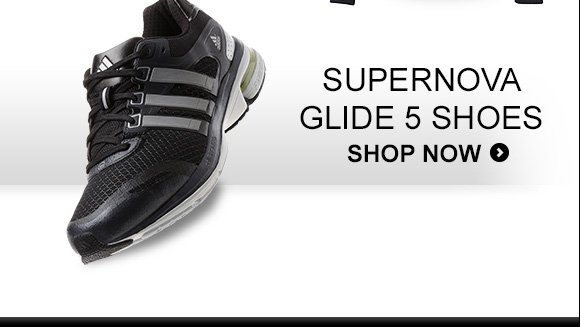 Shop Men's Supernova Glide 5 Shoes »