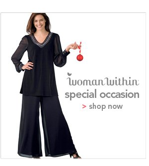 Shop Woman Within Special Occasion