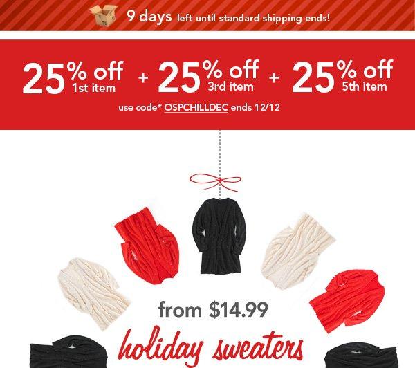 Shop Sweaters!