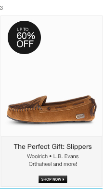 The Perfect Gift: Slippers
