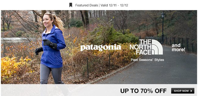 The North Face,  Patagonia and More