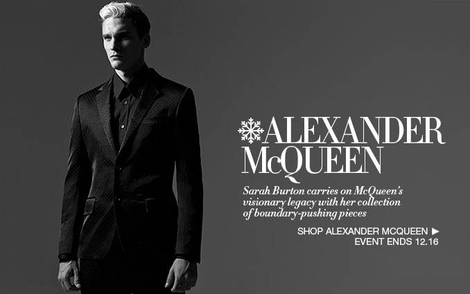 Shop Alexander McQueen For Men