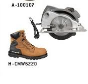 Men's 6-Inch Bison Waterproof Work Boot With Safety Toe