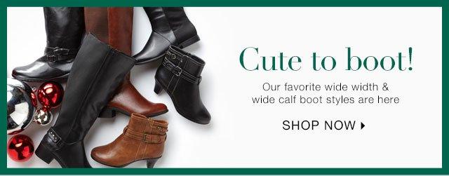 Shop Wide Width & Wide Calf Boots
