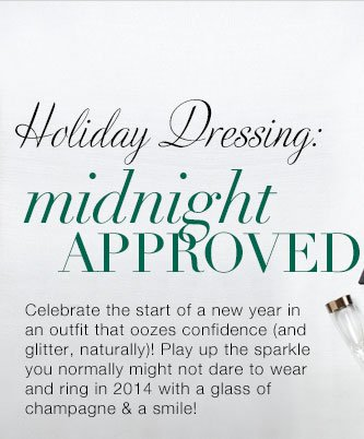 Shop our New Year's Eve Collection