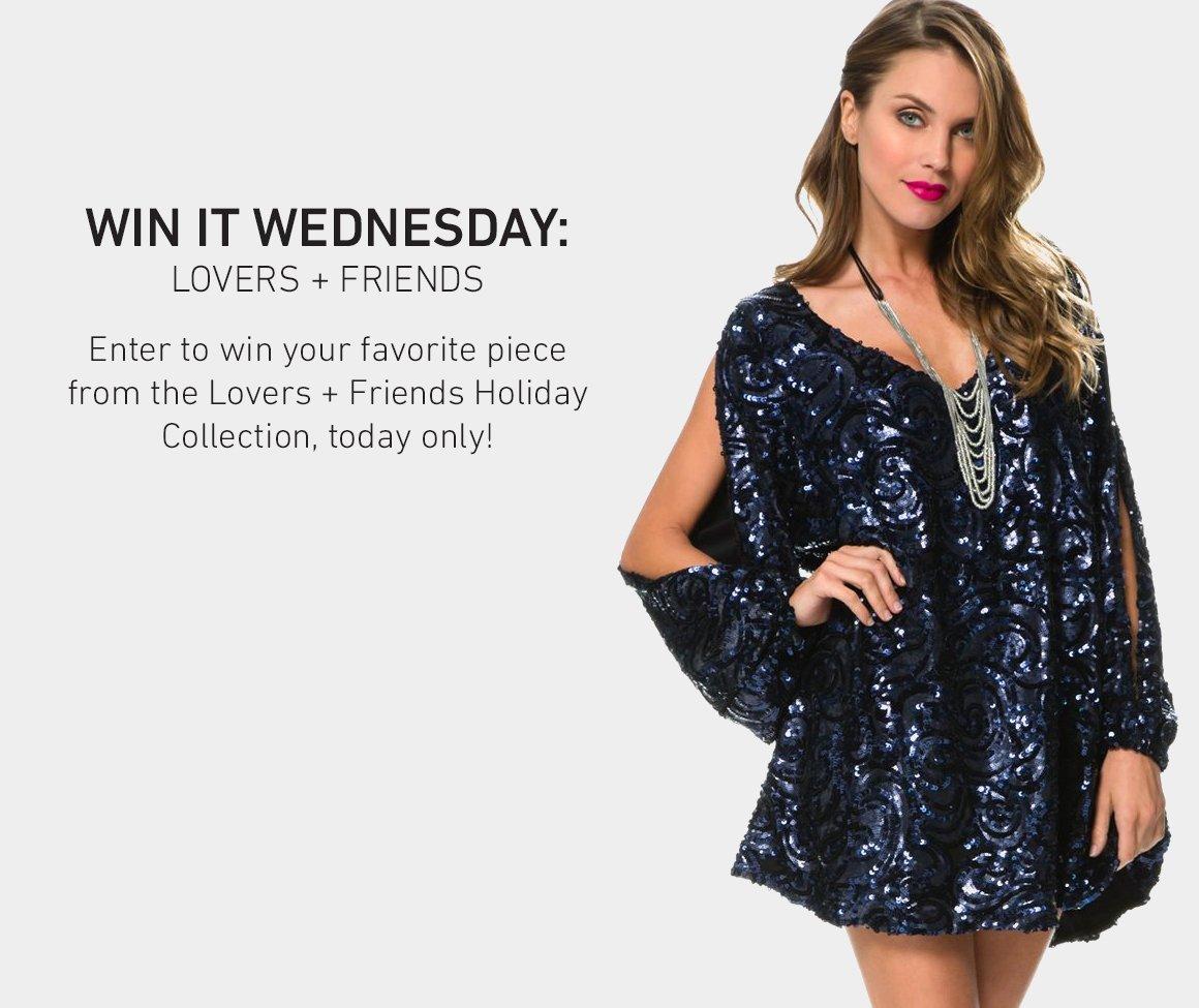 Win It Wednesday: Lovers + Friends