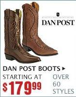 Mens Dan Post Boots on Sale