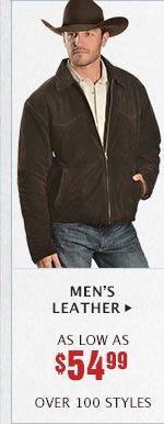 Mens Leather on Sale