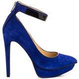 Voilla - Blue Violet Suede