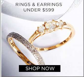 Rings & Earrings under $599