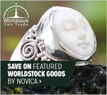 Save on Featured Worldstock Goods by Novica