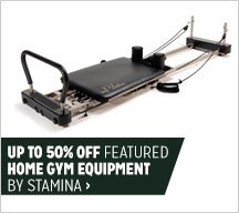 Up to 50% off Featured Home Gym Equipment by Stamina