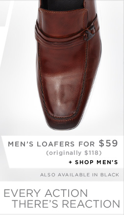 MEN'S LOAFERS FOR $59 - originally $118 // Shop Men's