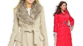 Ladies' Luxe Coats Under $200