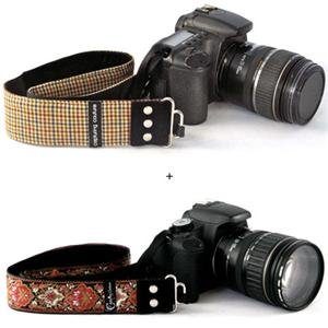 Adorama - Camera Straps by Capturing Couture: His & Her's Designer Camera Strap Set