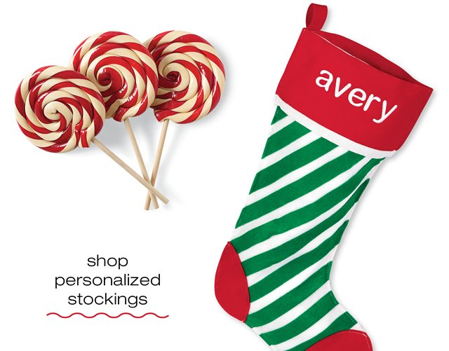 shop personalized stockings