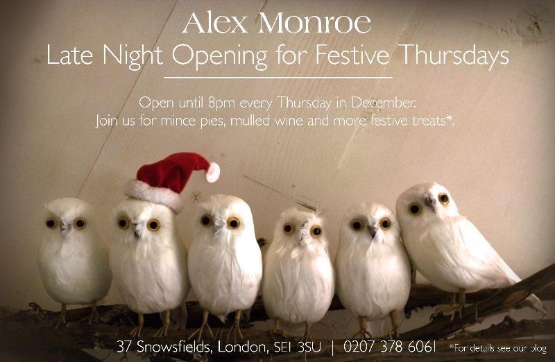 Alex Monroe 12 Days of Christmas