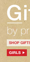 Gifts by price | SHOP GIFTS BY PRICE: GIRLS