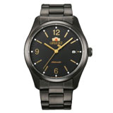 Orient ER21001B Men's Smart Black Dial Black Ion Plated Steel Automatic Watch