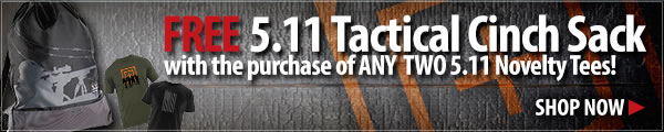 Free 5.11 Cinch Sack