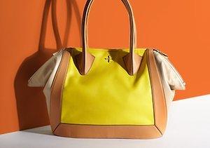 Bold Contrast: Colorblock Handbags