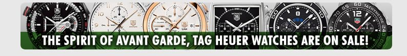 Luxury Tag Heuer Watch Sale At Dexclusive.com