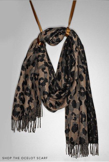 ocelot scarf