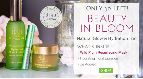 Only 30 Limited Edition Beauty in Bloom Sets Left! Shop