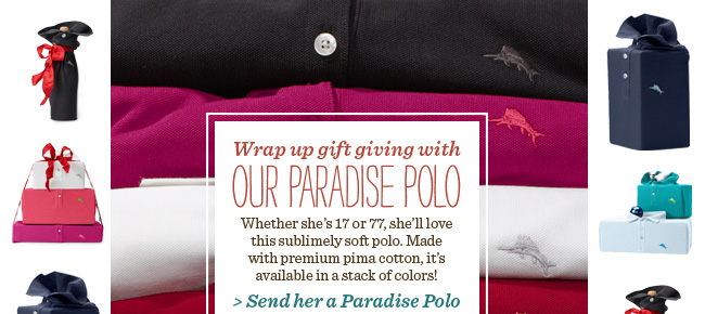 Send Her A Paradise Polo