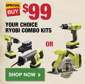 $79 Ryobi 18 Volt Drill Kit