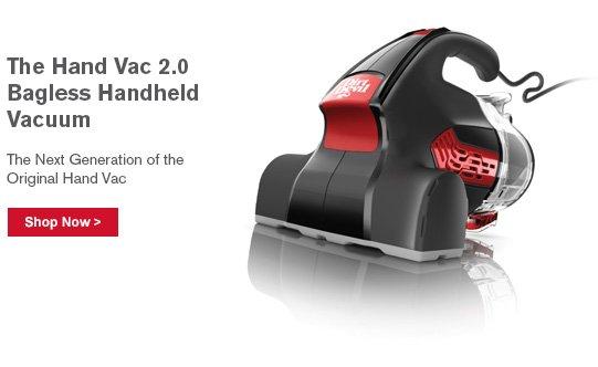 The Hand Vac 2.0 Bagless Handheld Vacuum