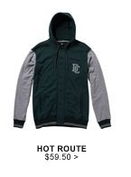 Hot Route $59.50