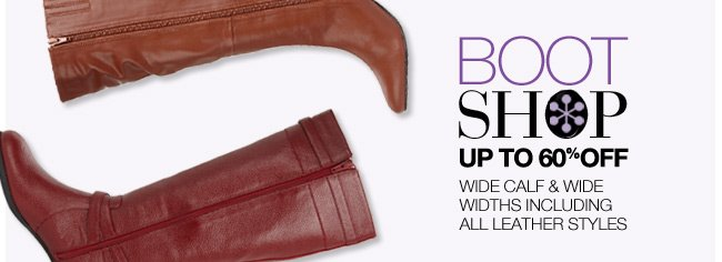 Boot Shop, Up to 60% Off
