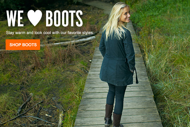 STAY WARM & LOOK COOL IN BOOTS