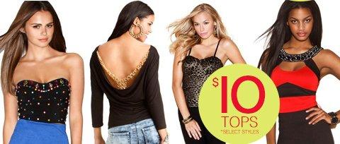 Select Tops $10